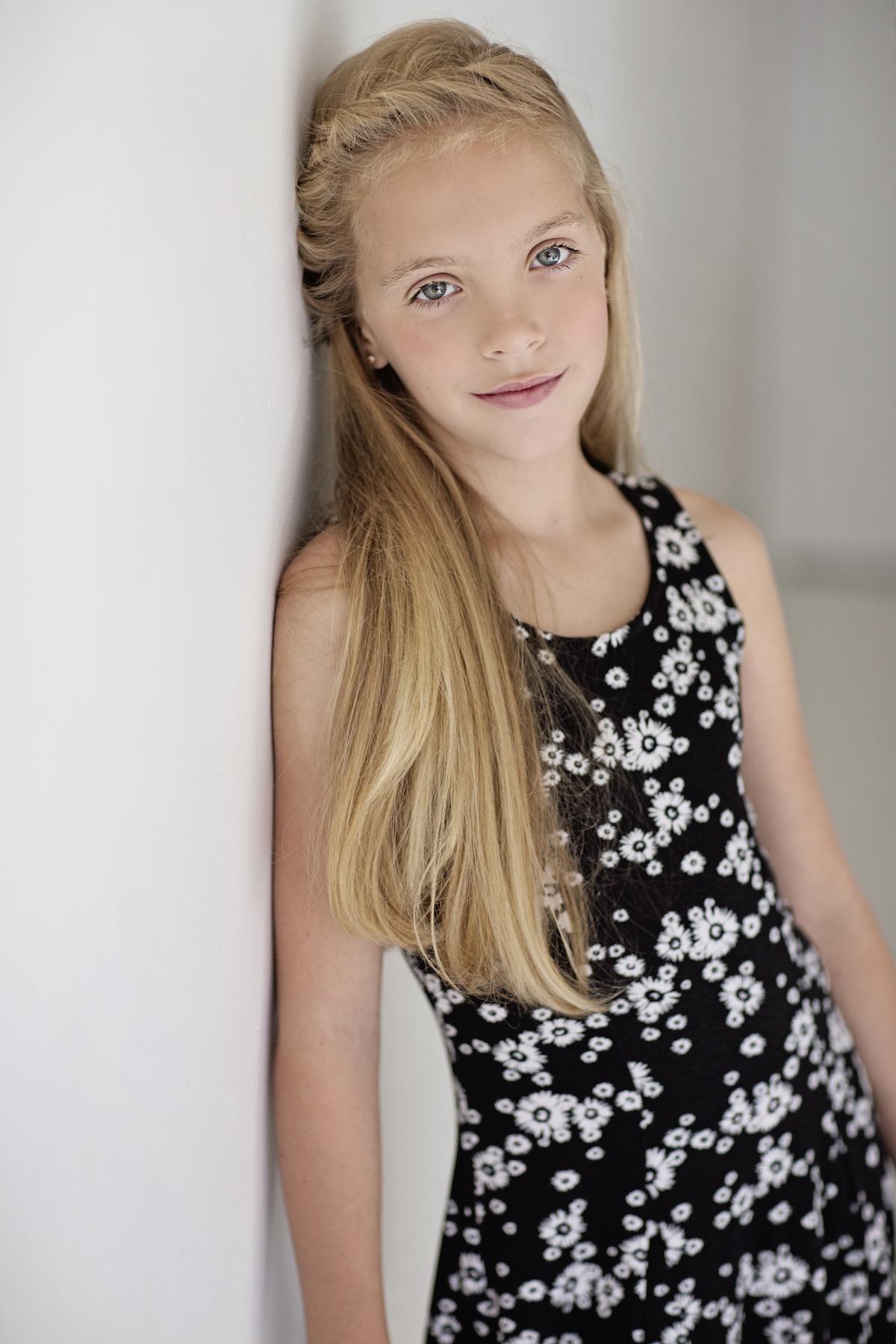 Megan model teen model